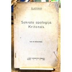 Platonas  - Sokrato apologija. Kritonas