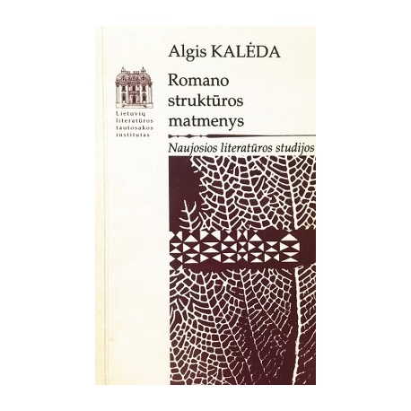 Kalėda A. - Romano struktūros matmenys