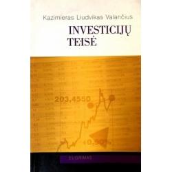 Valančius Liudvikas Kazimieras - Investicijų teisė