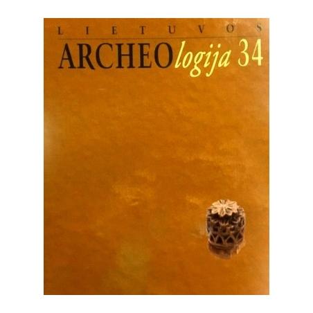 Lietuvos archeologija. 34
