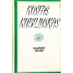 Kubilinskas Kostas - Mažųjų metai (I tomas)