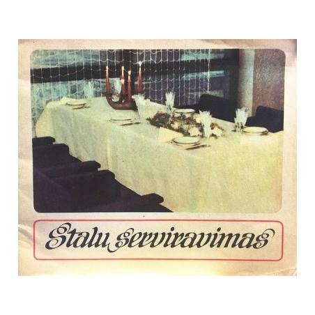 Galkienė Felicija - Stalų serviravimas