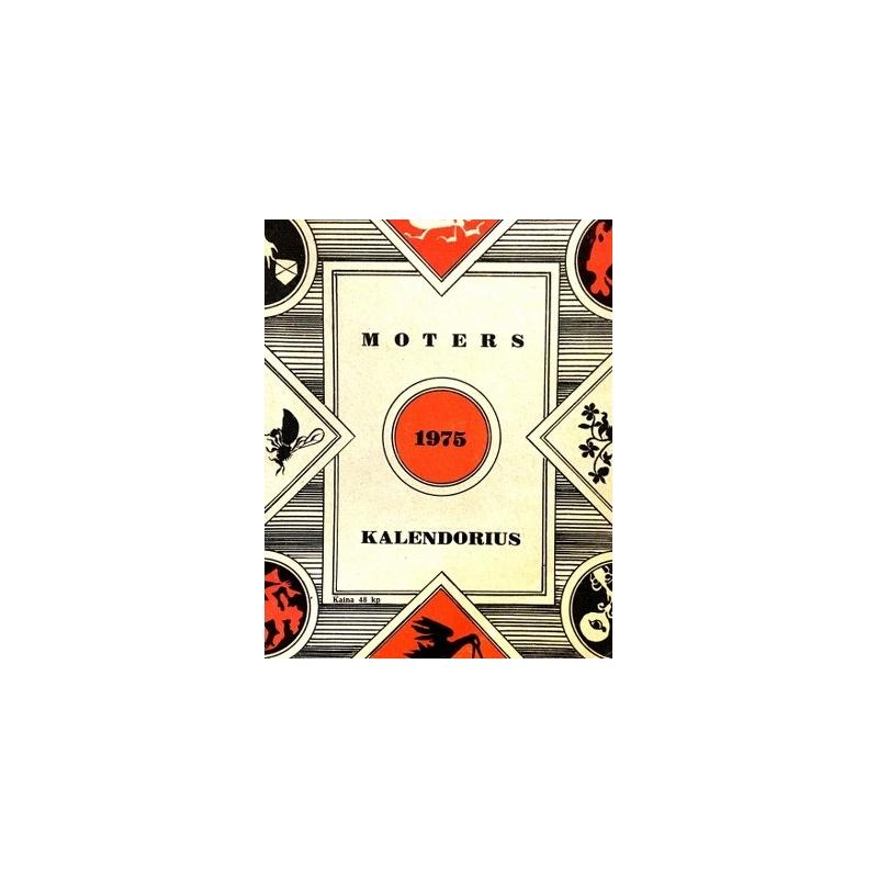 Moters kalendorius 1975