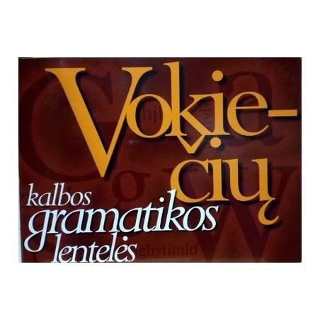 Katinienė V. - Vokiečių kalbos gramatikos lentelės