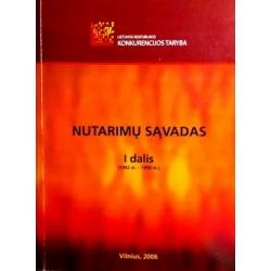 Lietuvos Respublikos konkurencijos tarybos nutarimų sąvadas (2 dalys)