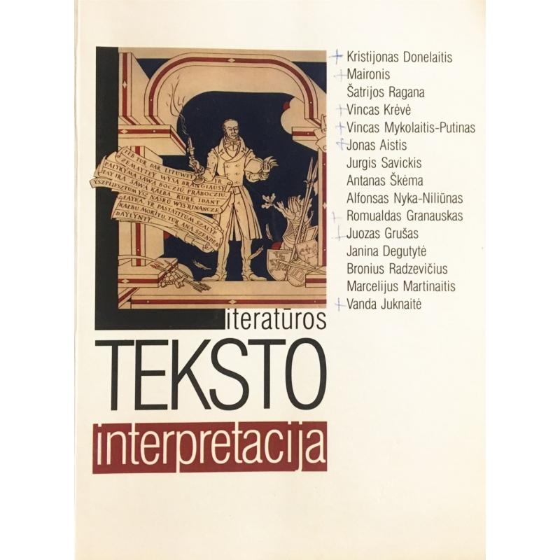 Vilūnas Giedrius - Literatūros teksto interpretacija