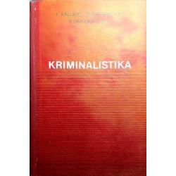 Palskys E. - Kriminalistika