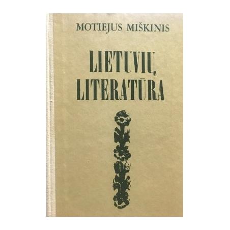 Miškinis M. - Lietuvių literatūra