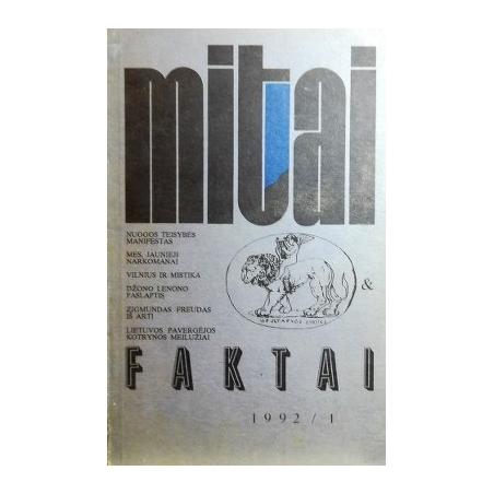 Mitai ir faktai, 1992 m., Nr. 1