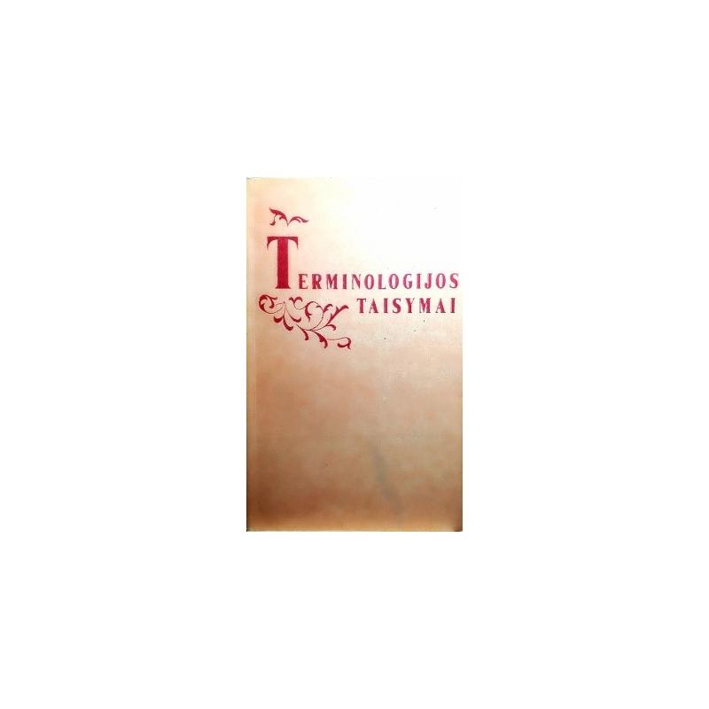 Gaivenis K. ir kiti - Terminologijos taisymai