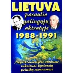 Paleckis Justas Vincas - Lietuva pasaulio galingųjų akiratyje, 1988 - 1991