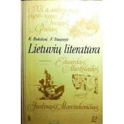 Bukelienė Elena, Daujotytė Viktorija - Lietuvių literatūra. XX amžiaus antroji pusė