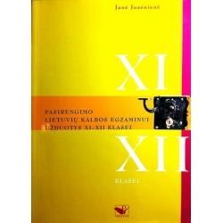 Juzėnienė Janė - Pasirengimo lietuvių kalbos egzaminui užduotys XI-XII klasei