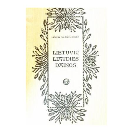 Barkauskienė Elena, Miniotaitė Jadvyga - Lietuvių liaudies dainos