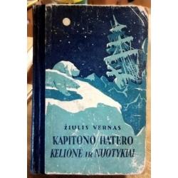 Vernas Žiulis - Kapitono Hatero kelionė ir nuotykiai