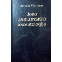 Vidžiūnas Arvydas - Jono Jablonskio akcentologija