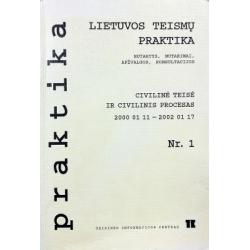 Lietuvos teismų praktika civilinė teisė ir civilinis procesas (1 numeris)