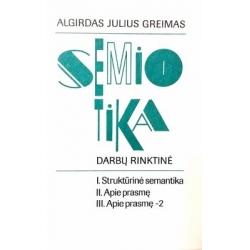 Greimas Algirdas Julius - Semiotika: darbų rinktinė