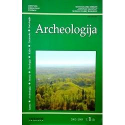 """Zabiela G. ir kt. - Archeologija: monografijų serijos """"Lietuvos valsčiai"""" mokslo darbų rinkinys. 2002-2005 (1 tomas, 2 dalis)"""