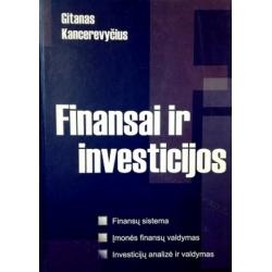 Kancerevyčius Gitanas - Finansai ir investicijos