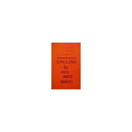 Kaganova A. - English for extra-mural students