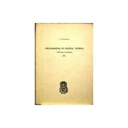 Naujokaitis S. - Mechanizmų ir mašinų teorija. Uždavinių sprendimas III