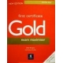 Burgess Sally - First Certificate Gold Exam Maximiser