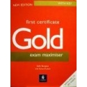Burgess Sally - First Certificate Gold Exam Maximiser