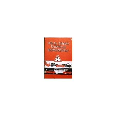 Kelių eismo taisyklių komentarai