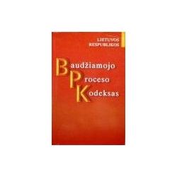 Lietuvos Respublikos baudžiamojo proceso kodesas