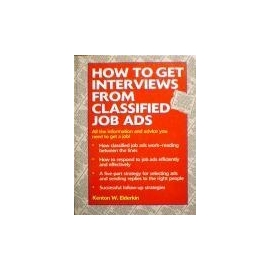 Elderkin Kenton - How to get interviews from classified job ads