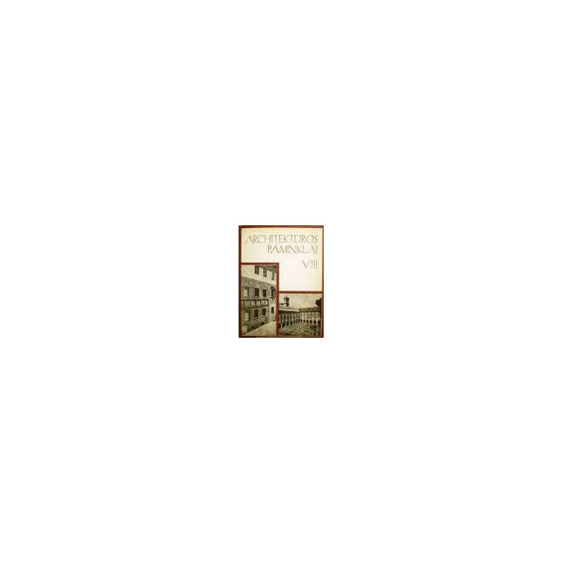 Architektūros paminklai (8 tomas)