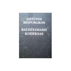 Autorių kolektyvas - Lietuvos respublikos baudžiamasis kodeksas