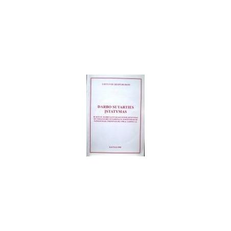 Lietuvos Respublikos darbo sutarties įstatymas