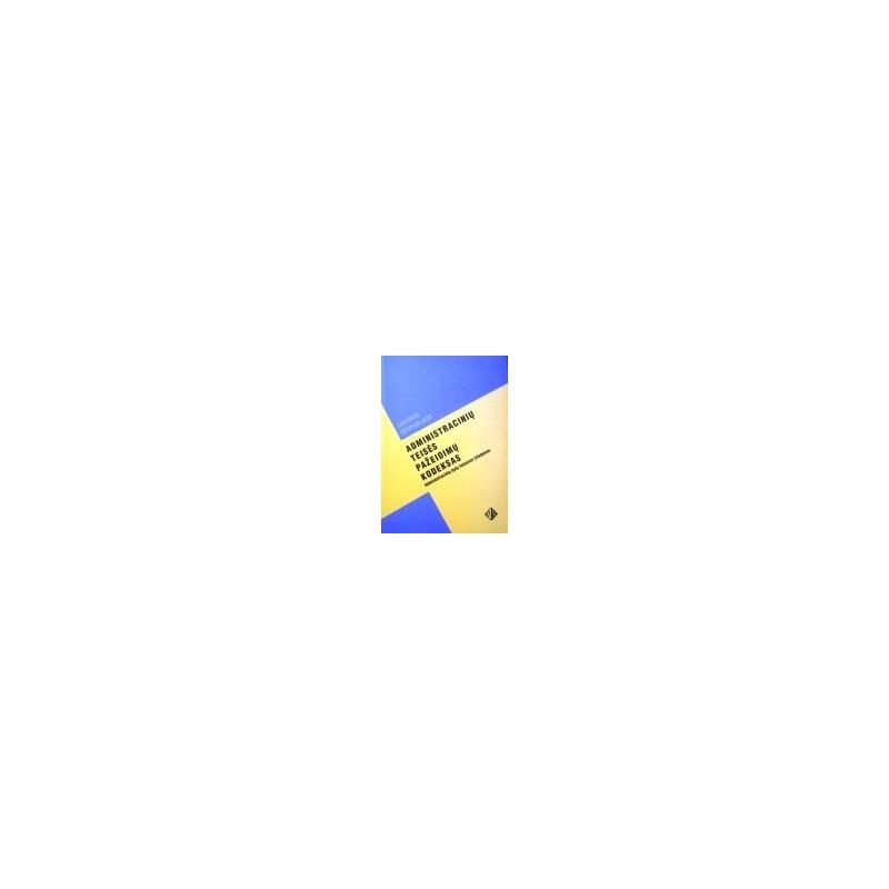Administracinių teisės pažeidimų kodeksas