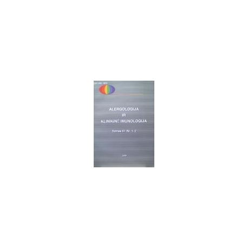 Alergologija ir klinikinė imunologija, tomas III Nr.1-2