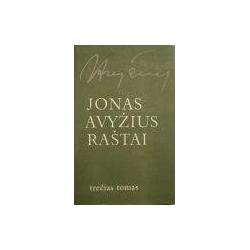 Avyžius Jonas - Raštai (III tomas)