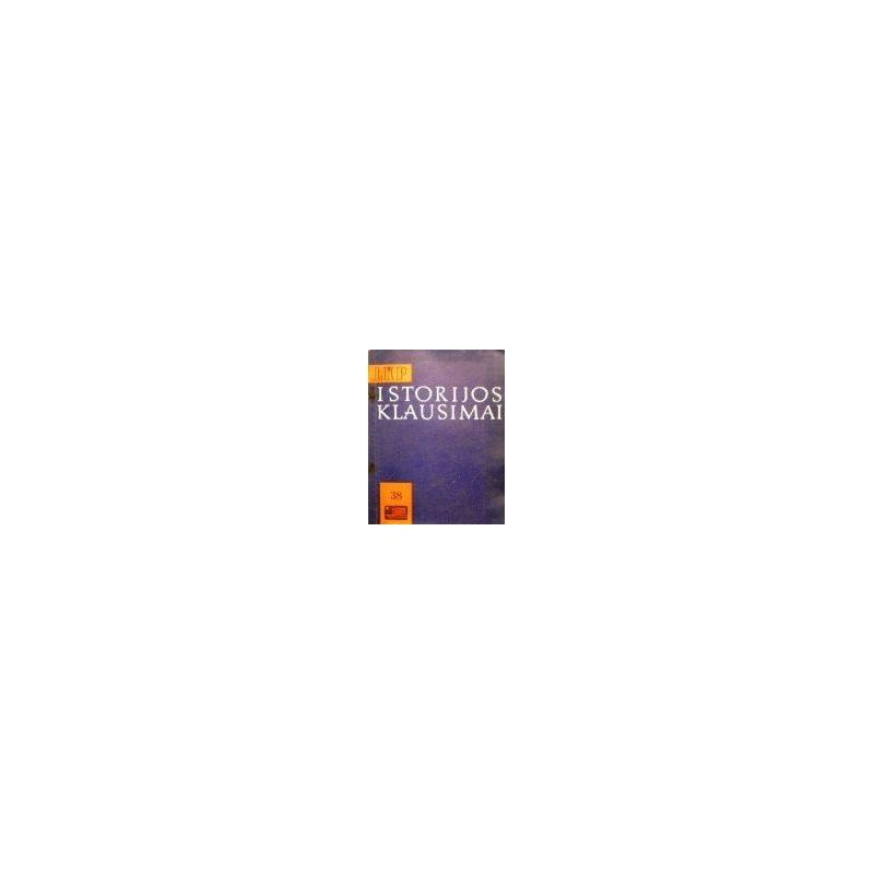 LKP istorijos klausimai (38 tomas)