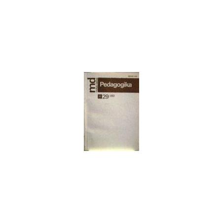 Pedagogika 1993/29