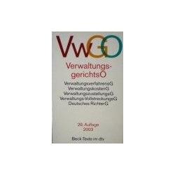 VerwaltungsgerichtsO (VWGO)