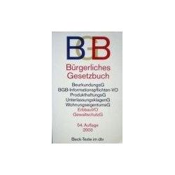 Burgerliches Gesetzbuch (BGB)