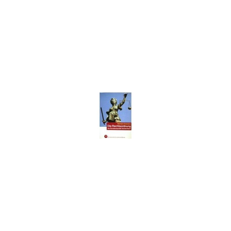 Avenarius H. - Die Rechtsordnung der Bundesrepublik Deutschland : eine Einführung