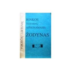 Vokiečių-lietuvių rinkos terminų aiškinamasis žodynas