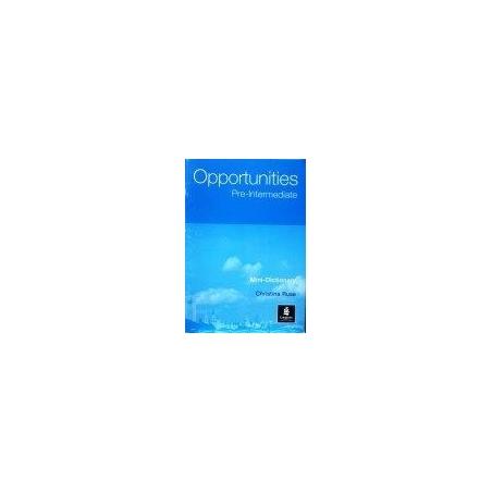 Ruse Christina - Opportuities Pre-Intermediate Mini Dictionary