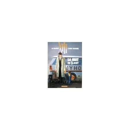 Vance W. - XIII, tome 7 : La Nuit du 3 août (komiksai)