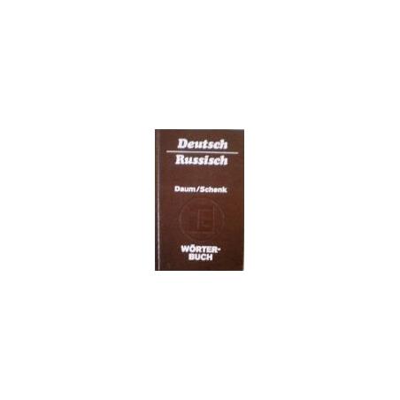 Daum Edmund - Worterbuch. Deutsch-Russisch