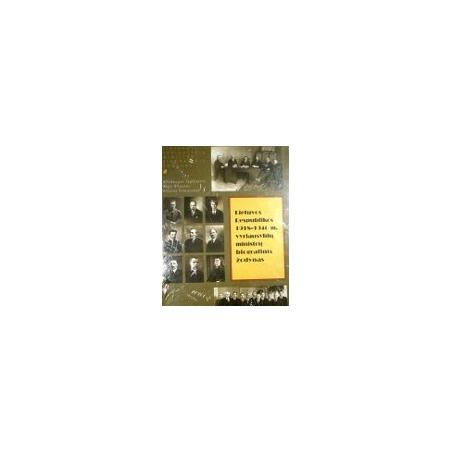 Tamošaitis A. - Lietuvos Respublikos 1918-1940 m. vyriausybių ministrų biografinis žodynas