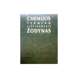 Mačionis Zenonas - Chemijos terminų aiškinamasis žodynas