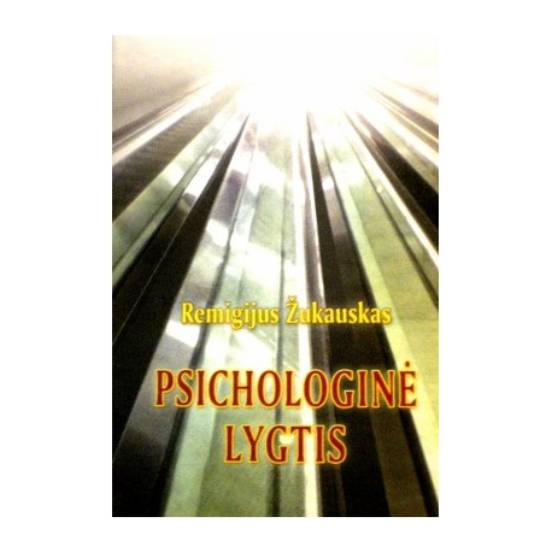 Žukauskas Remigijus - Psichologinė lygtis