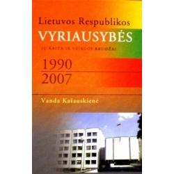 Kašauskienė Vanda - Lietuvos Respublikos Vyriausybės 1990-2007 m
